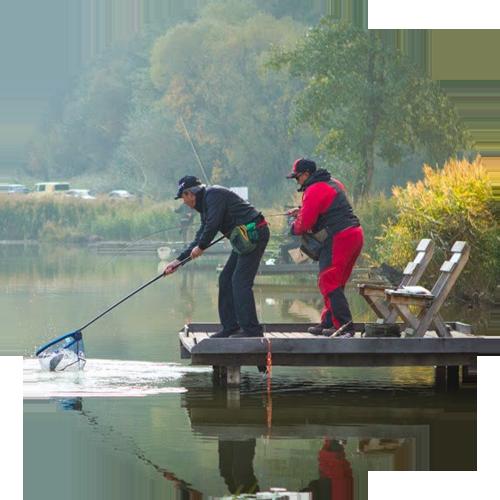 комфортные места для рыбалки