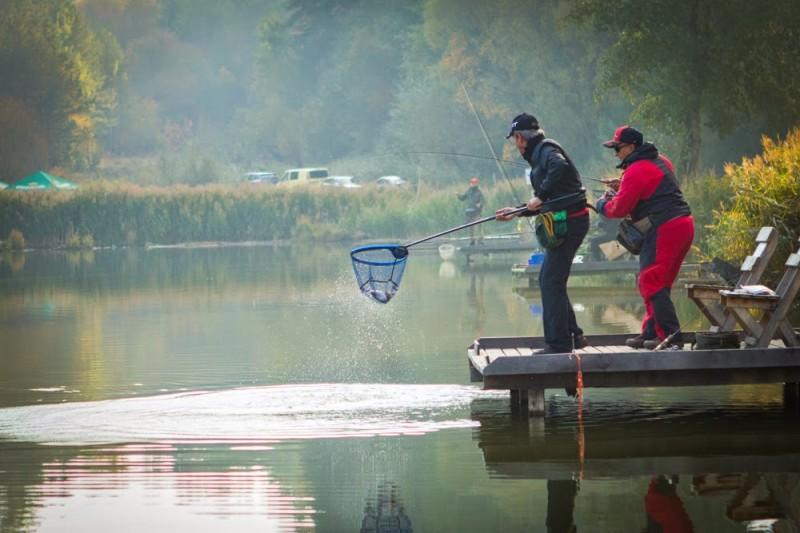ловим кумжу в озере